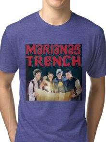 Astoria - Marianas Trench Tri-blend T-Shirt