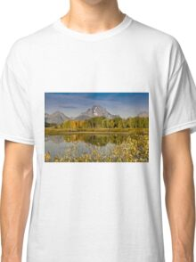 The Tetons and Fall Colors Classic T-Shirt