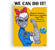 Team 7 We Can Do it! Canvas Print