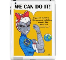Team 7 We Can Do it! iPad Case/Skin