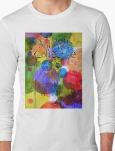 Animal Collective Dots Long Sleeve T-Shirt