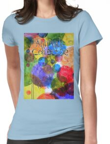 Animal Collective Dots Womens Fitted T-Shirt