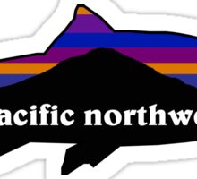 Patagonia PNW Fish Sticker