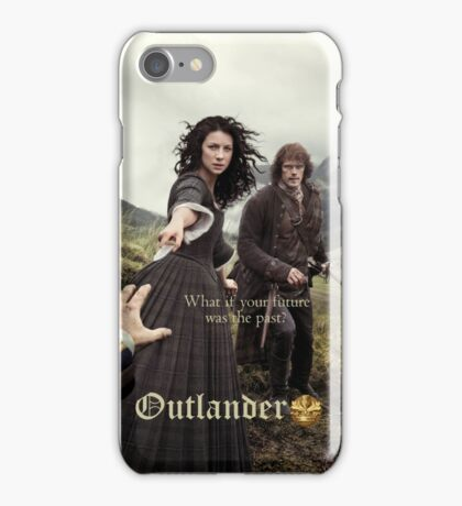 Outlander poster/Jamie & Claire iPhone Case/Skin