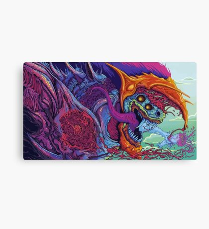 Hyper Beast Canvas Print