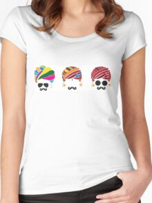 Cool Turban Heads Women's Fitted Scoop T-Shirt