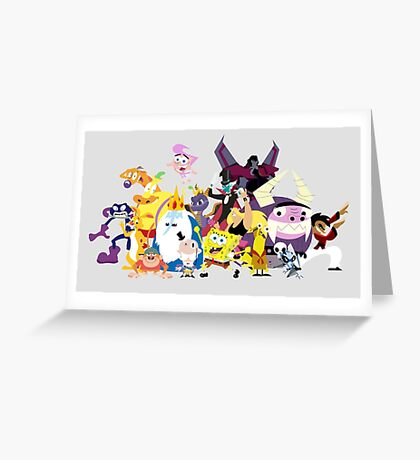 Voices of Tom Kenny Greeting Card