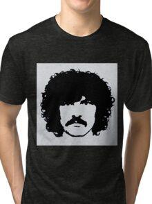 Burton Cummings Portrait Tri-blend T-Shirt