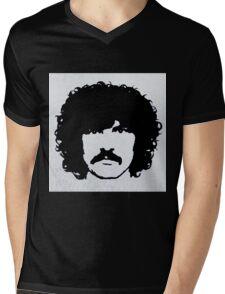 Burton Cummings Portrait Mens V-Neck T-Shirt