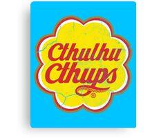 Cthulhu Cthups Canvas Print