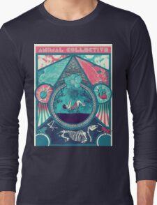 Animal Collective Circus Style Long Sleeve T-Shirt