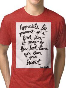 Quote, R.M. Drake Tri-blend T-Shirt