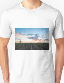 North Qld cane sunset Unisex T-Shirt