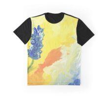 Blue Flowers Graphic T-Shirt