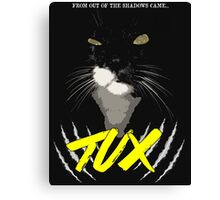 Tux - The Movie Canvas Print