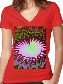 Original MGMT Women's Fitted V-Neck T-Shirt
