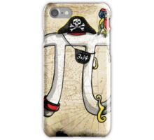 Pirate Pi Day iPhone Case/Skin