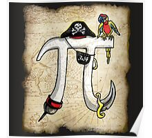 Pirate Pi Day Poster