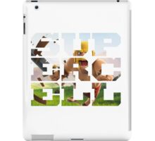supercell logo barbarian iPad Case/Skin