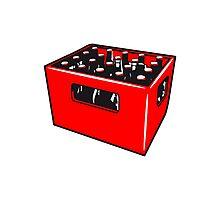 Beer drinking booze box Photographic Print