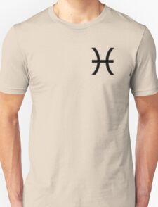 Pisces Zodiac Symbol Standard T-Shirt