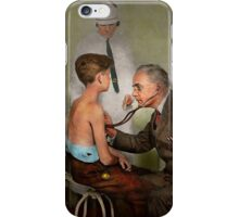 Doctor - At the pediatricians office 1925 iPhone Case/Skin