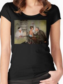 Doctor - At the pediatricians office 1925 Women's Fitted Scoop T-Shirt