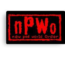 New Pod World Order Canvas Print
