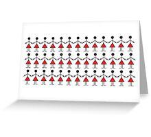 The Tribal Ladies Dance Greeting Card