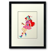 Bulma Framed Print