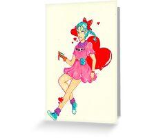 Bulma Greeting Card