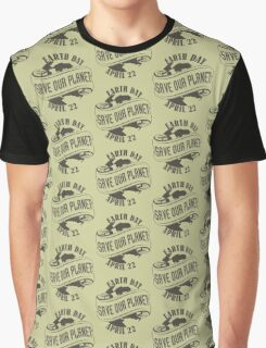 Earth Day Save Our Planet Graphic T-Shirt