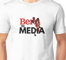 Bern The Media - Bernie Sanders (Black) Unisex T-Shirt