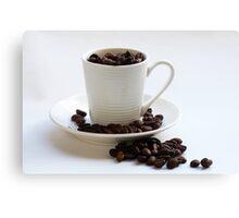 Delicious coffee Canvas Print