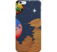 Landscape in Space iPhone Case/Skin