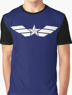 Tactical Stars and Stripes Graphic T-Shirt