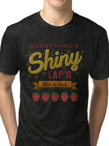 Kaylee's Embroidery Tri-blend T-Shirt