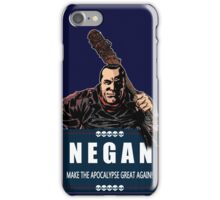 Negan - Make The Apocalypse Great Again! iPhone Case/Skin