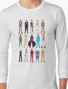 Outfits of Bowie Fashion Long Sleeve T-Shirt