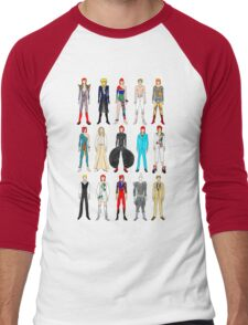 Outfits of Bowie Fashion Men's Baseball ¾ T-Shirt