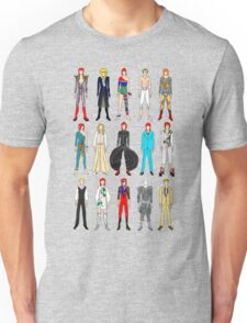 Outfits of Bowie Fashion Unisex T-Shirt