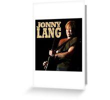 JONNY LANG Greeting Card