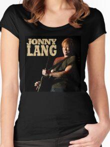 JONNY LANG Women's Fitted Scoop T-Shirt
