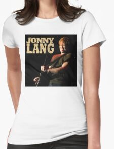 JONNY LANG Womens Fitted T-Shirt