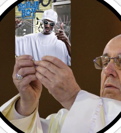 The Pope Sticker