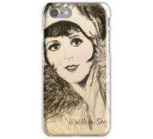 Clara, Scarf and Fur iPhone Case/Skin
