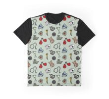 Martinis and Medicine Graphic T-Shirt