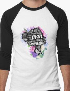 Jane Eyre - No Bird Men's Baseball ¾ T-Shirt