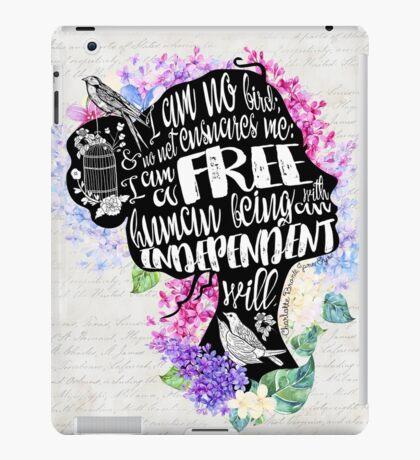 Jane Eyre - No Bird iPad Case/Skin