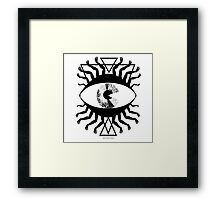 An Eye to See All but Maybe Not That  Framed Print
